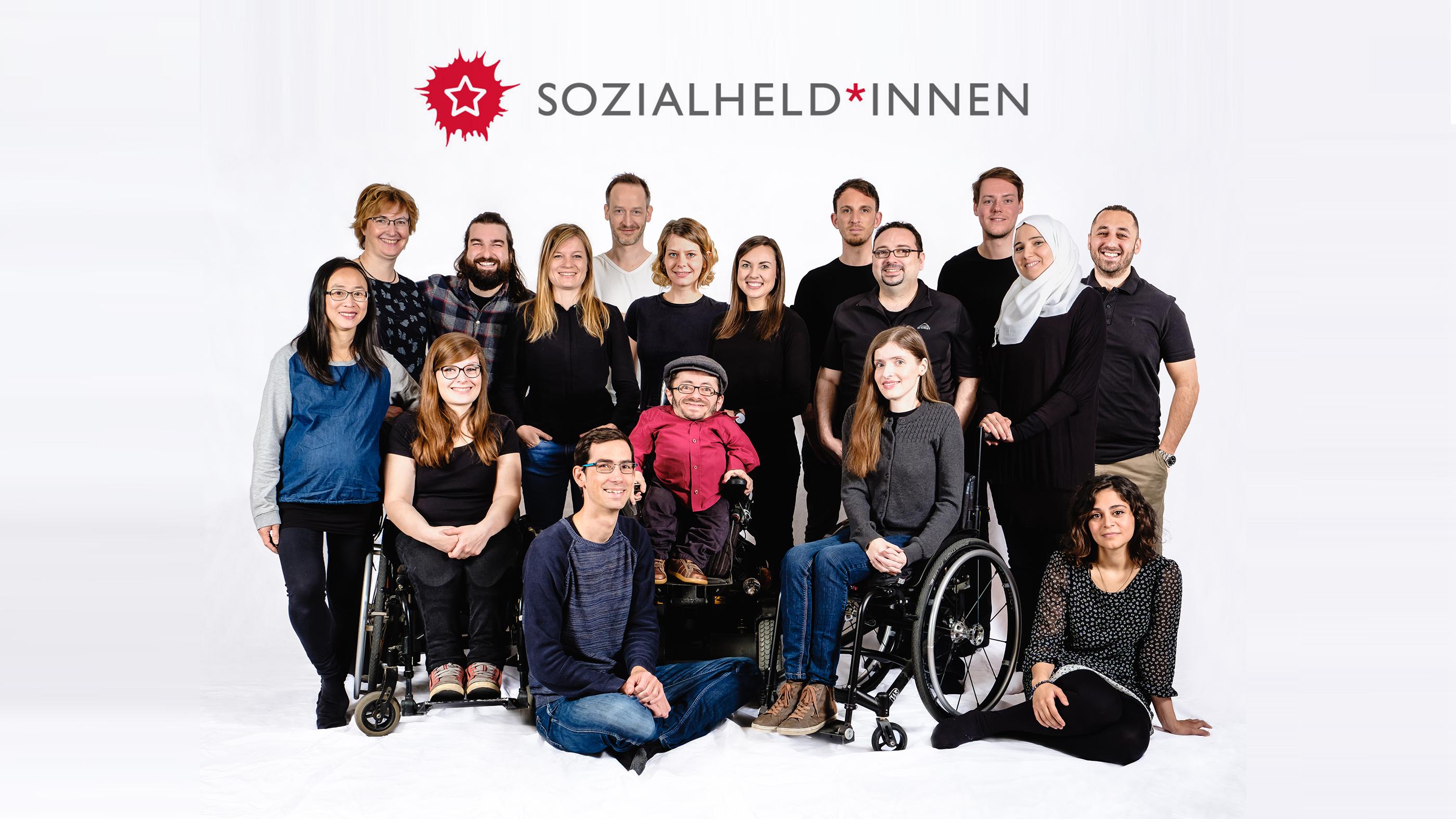 Gruppenbild der Sozialhelden