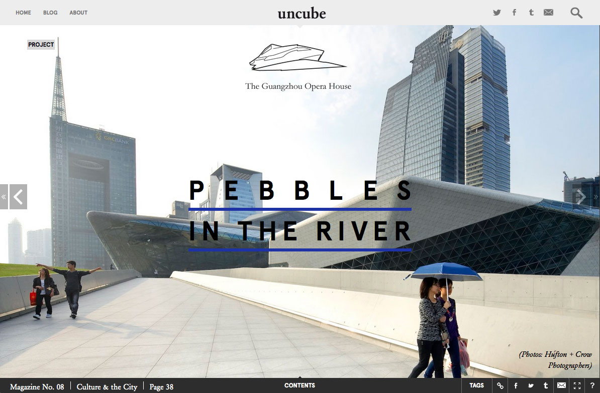 The Guangzhou Opera House uncube Magazine
