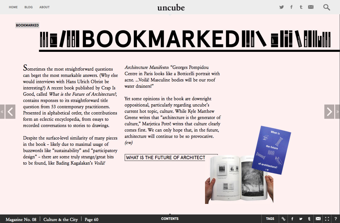 uncube magazine issue 08