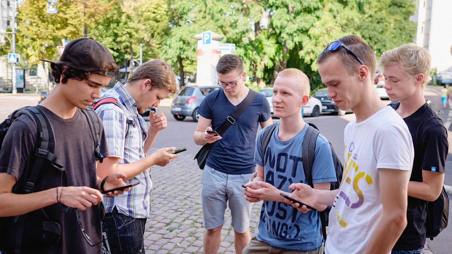 MapMyDay App Jugendliche