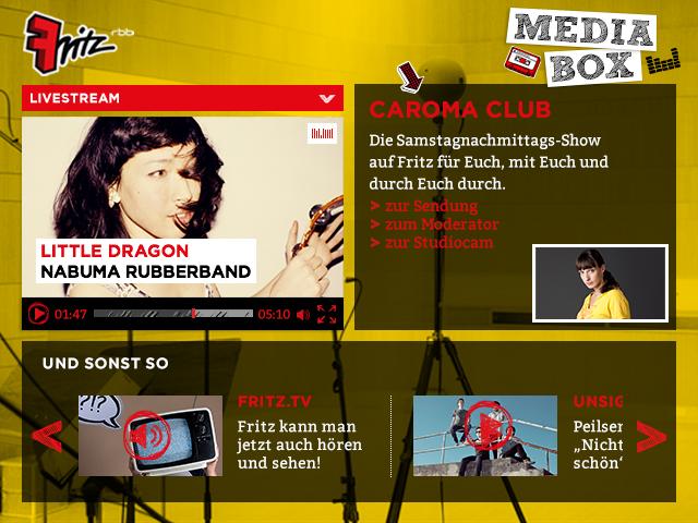 Fritz, Relaunch, Streambox, Mediathek