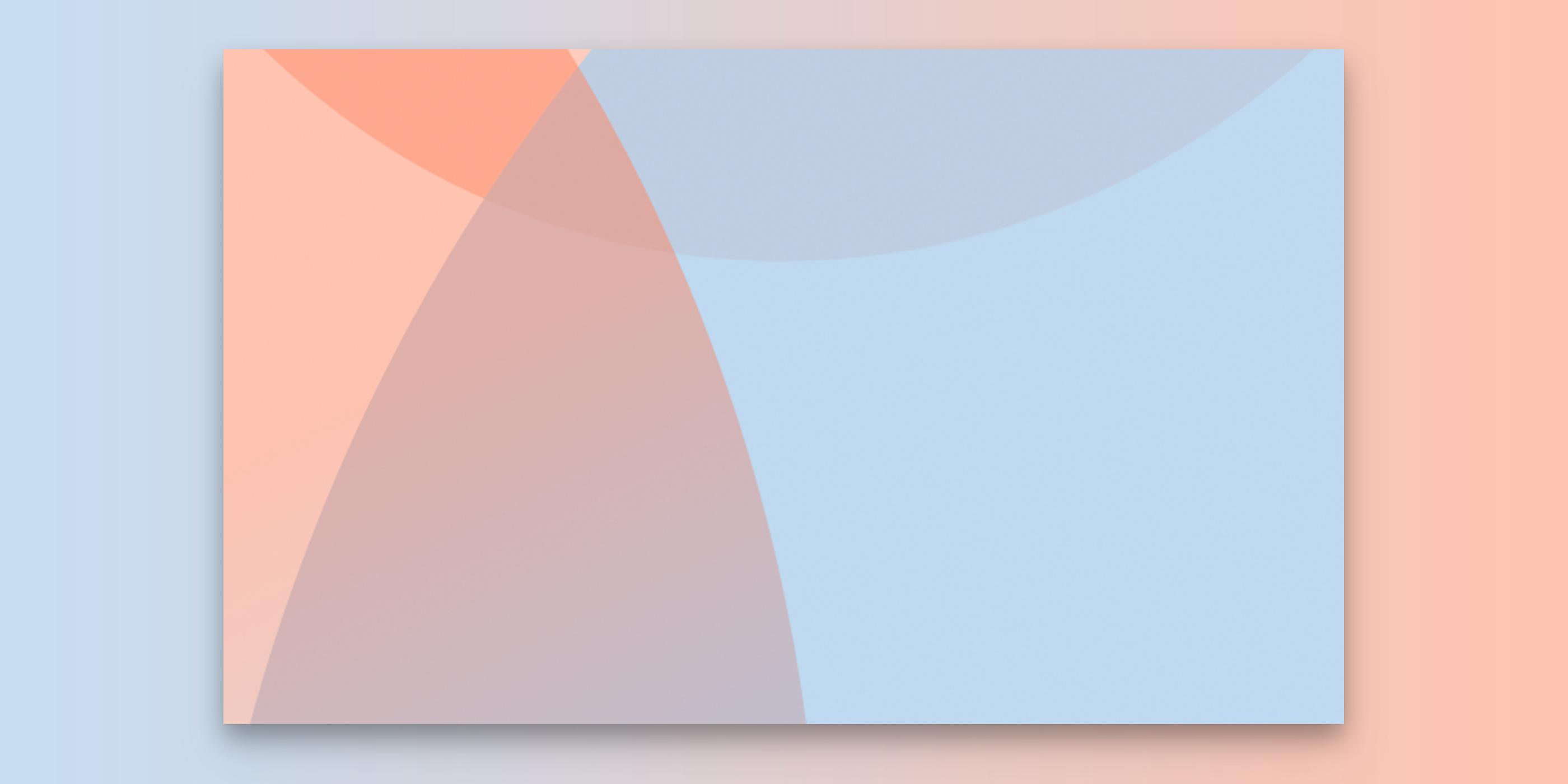 Ein Ausschnitt des Erscheinungsbildes in den Farben hellblau und rosa