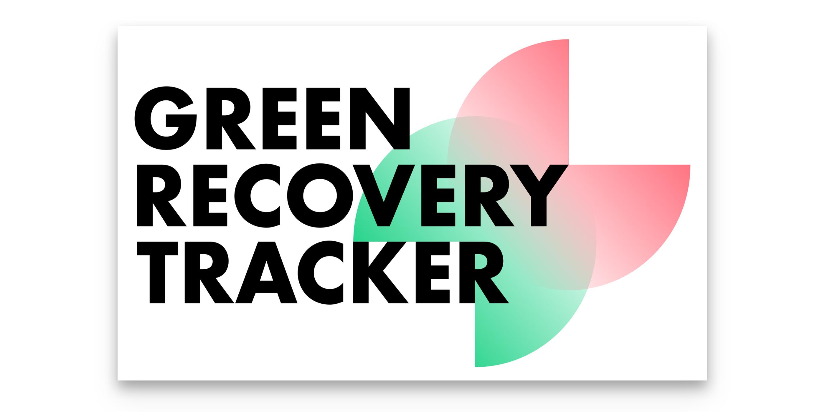 Das Logo von Green Recovery Tracker