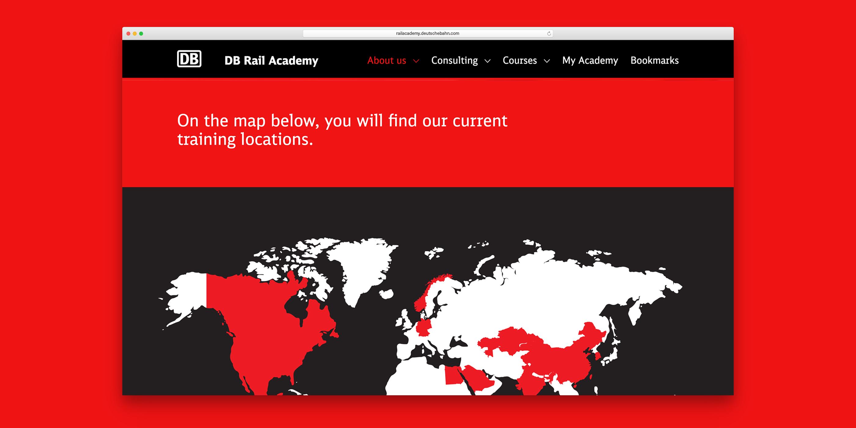 Ausschnitt einer illustrierten Weltkarte