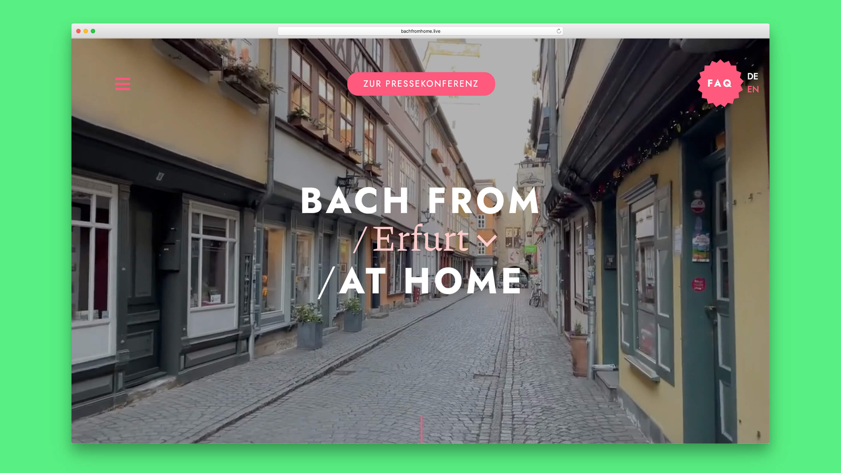Bach From Home