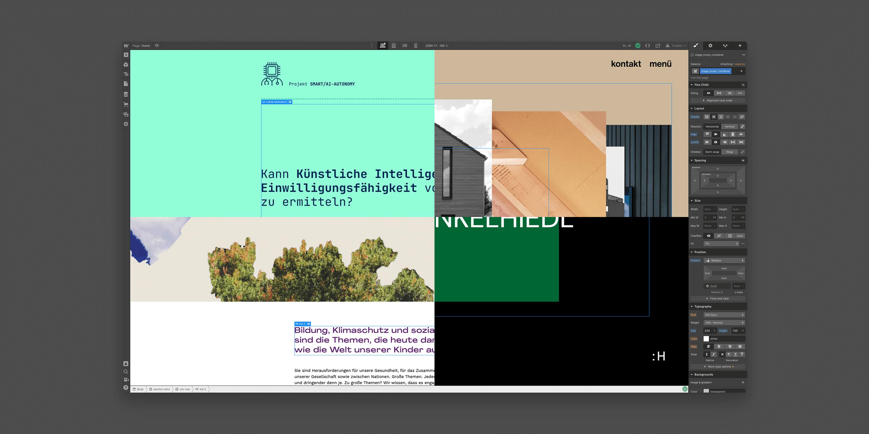 Teaserbild für die Dokumentation von kleineren Webflow-Projekten auf henkelhiedl.com