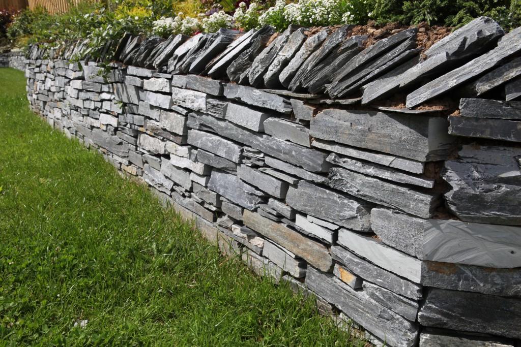 Stone Wall in Croyde