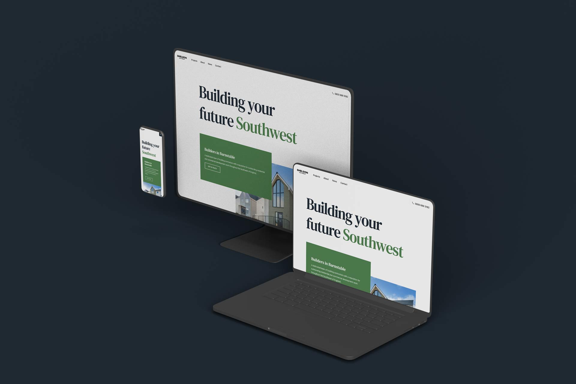 Launch of Our New Construction Website