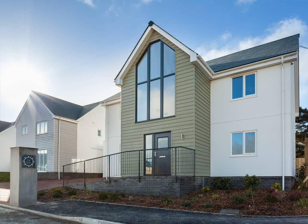 New build property in Devon