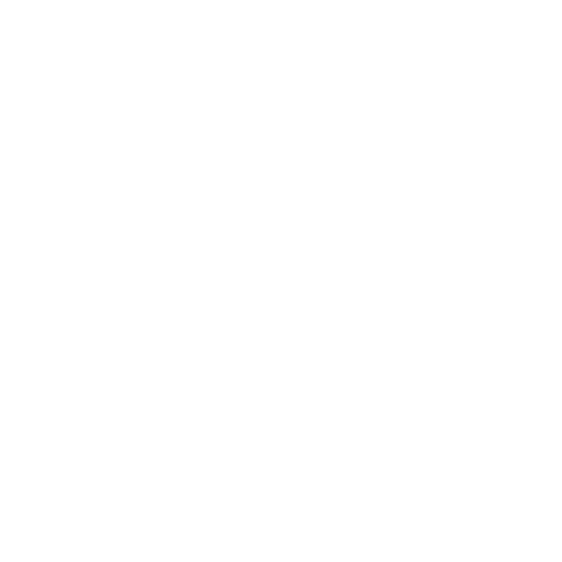 white icon of a gear with play button