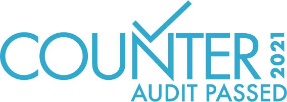 Counter Audit Passed 2021 logo