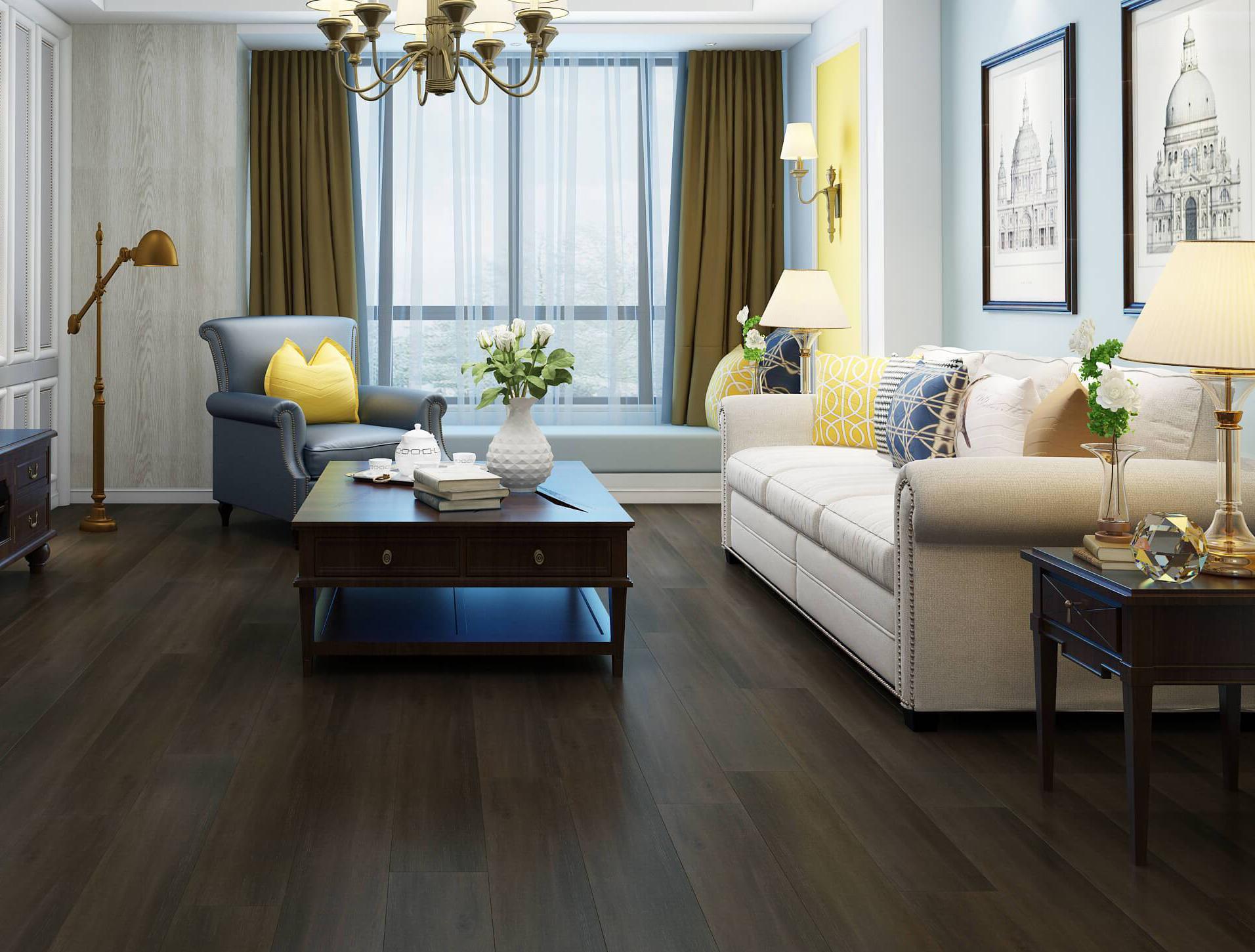 Deep Fumed Oak Luxury Impervia® Flooring
