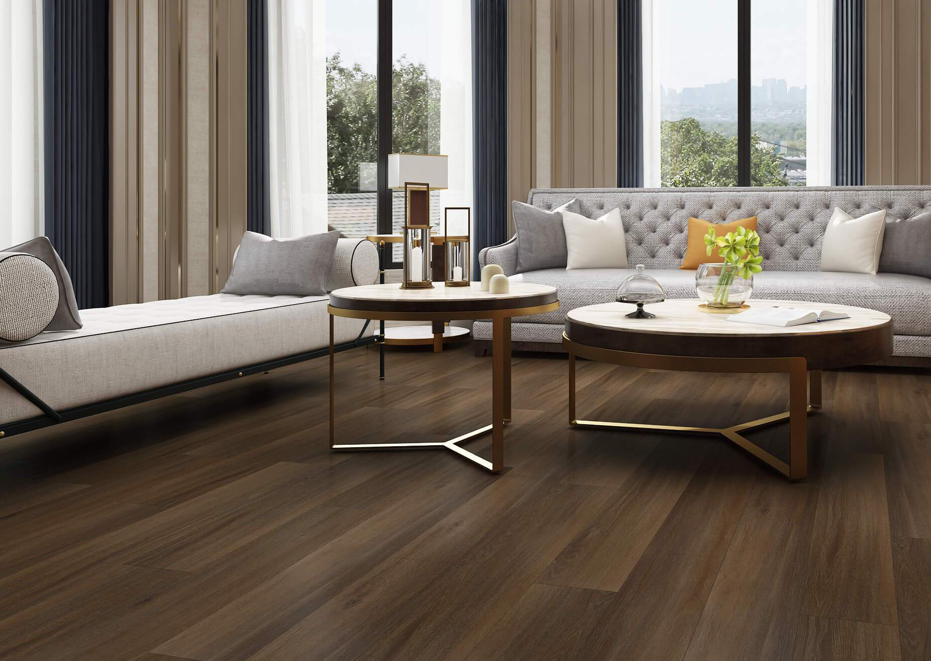 Fumed Oak Impervia® Flooring