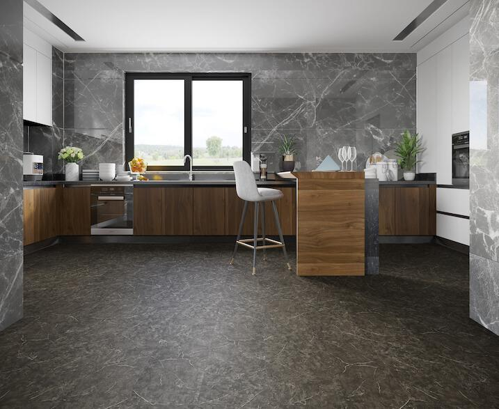 Black Marble Stone Impervia® Tile