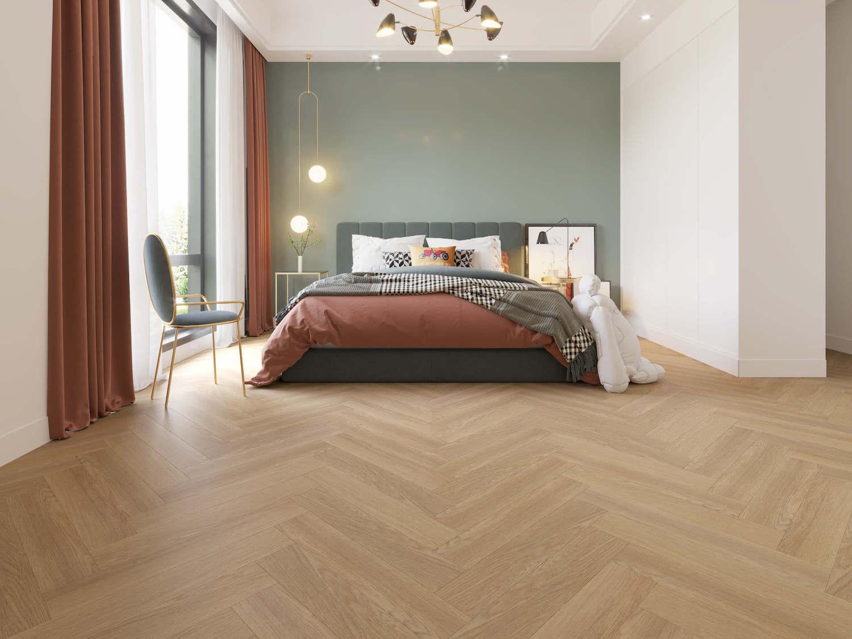 Impervia® Herringbone Champagne Oak Flooring
