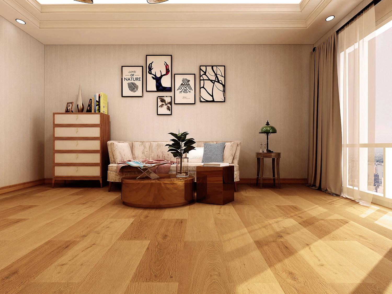 Luxury Vinyl Flooring   Natural Oak SPC