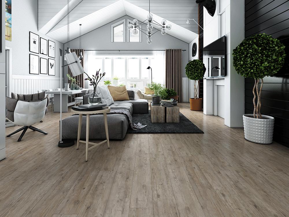Impervia Snow White Oak luxury Vinyl Flooring
