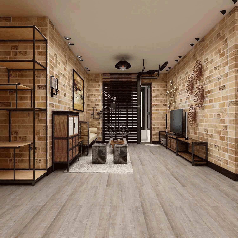Impervia Silver Fern Oak luxury Vinyl Flooring