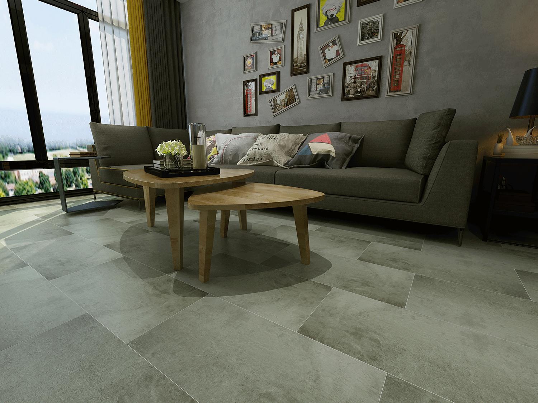 Impervia Sea Grey Oak Luxury Vinyl Tile  Flooring