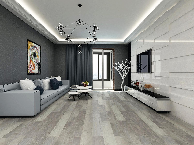Impervia Mid Grey Toned Oak Luxury Vinyl Flooring