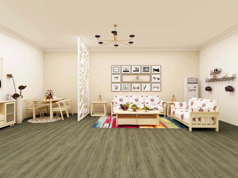 Impervia Rustic Green Oak luxury Vinyl Flooring