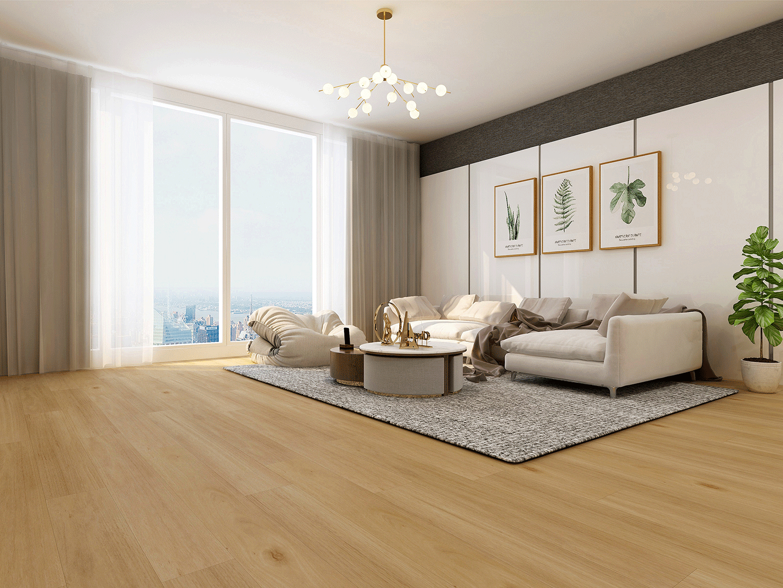 Impervia Lightened White  Oak luxury Vinyl Flooring