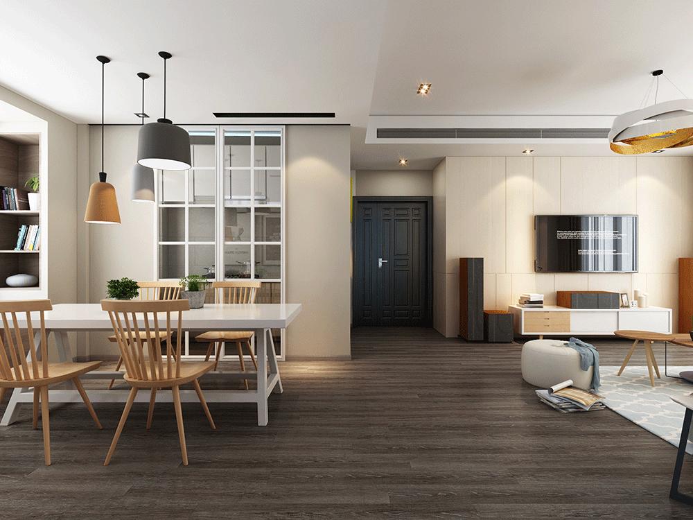 Impervia Light Fumed limed Oak luxury Vinyl Flooring