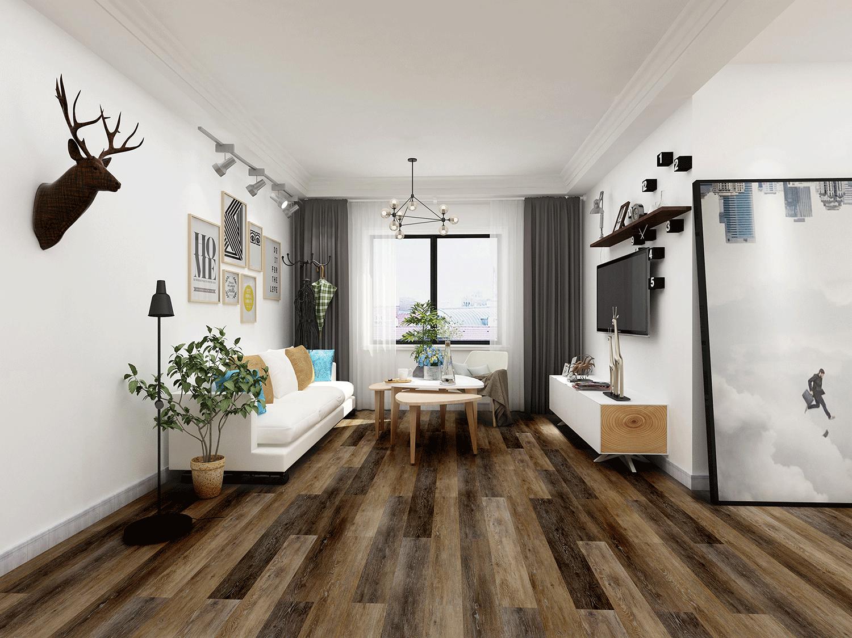 Impervia Commercial Zebra Oak Luxury Vinyl Flooring