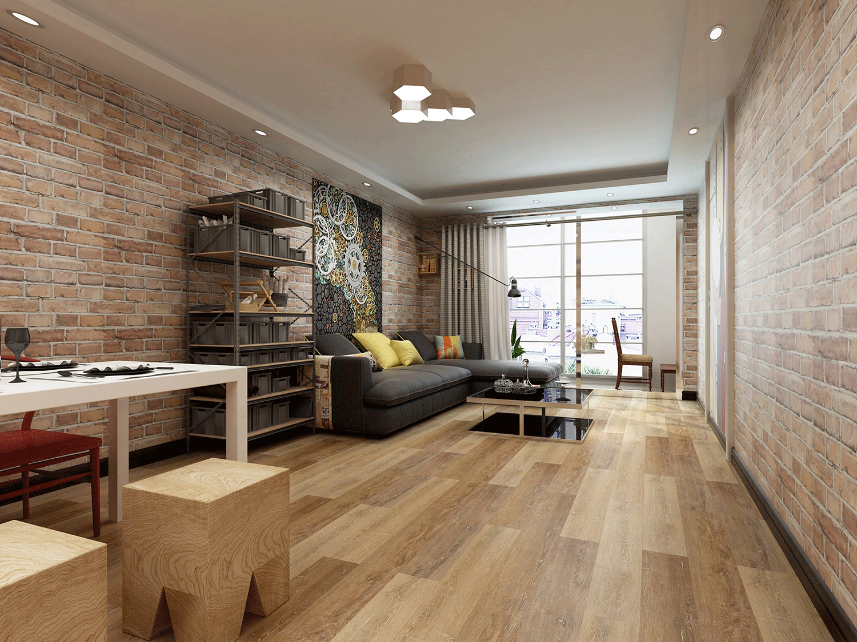 Impervia Commercial Warm Oak Luxury Vinyl Flooring