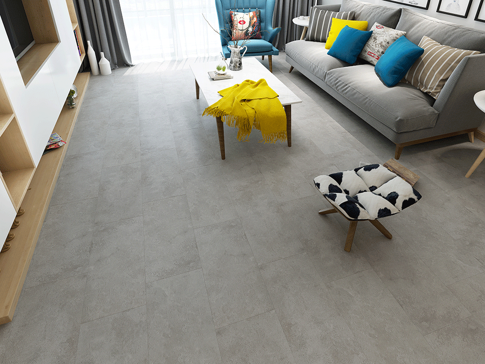 Impervia Commercial Titanium Grey Oak Luxury Vinyl Flooring