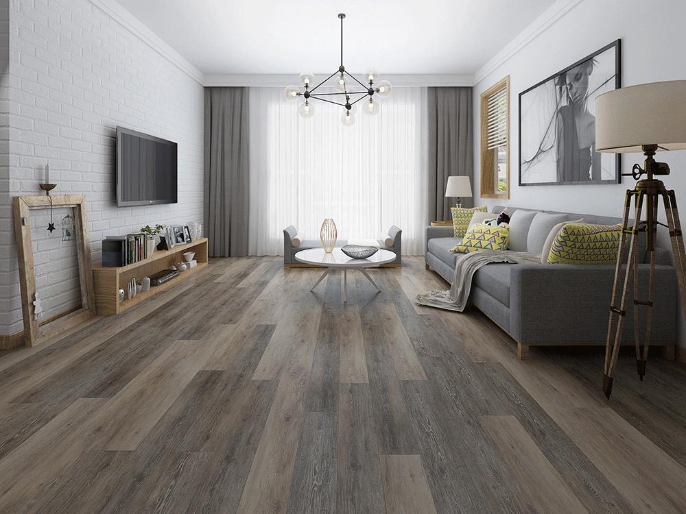Impervia Commercial Salted Pepper Oak Luxury Vinyl Flooring