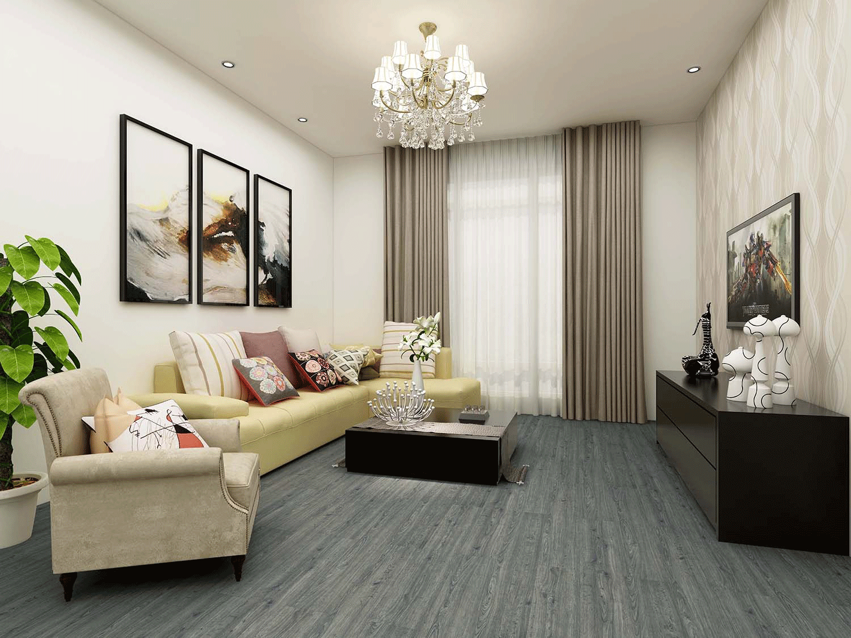 Impervia Commercial Pewter Grey Oak Luxury Vinyl Flooring