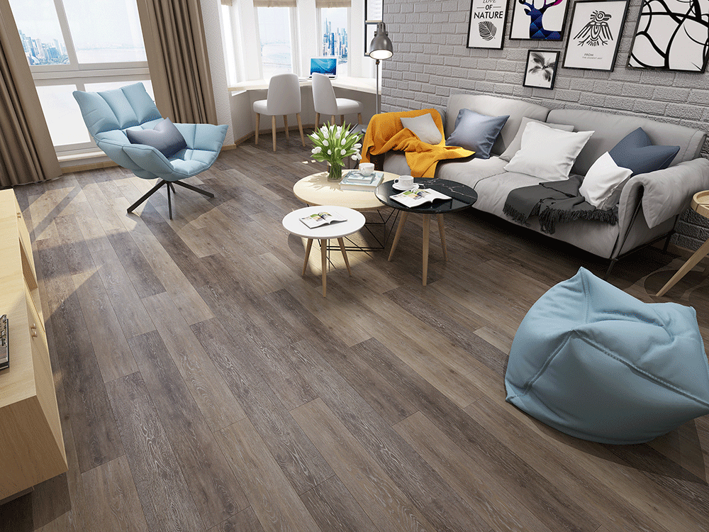 Impervia Commercial Grey Limed Oak Luxury Vinyl Flooring