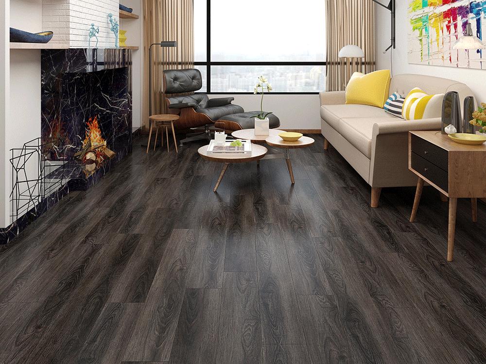 Impervia Commercial Expresso Oak Luxury Vinyl Flooring