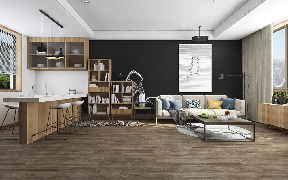 Impervia Commercial Earthy Oak Luxury Vinyl Flooring