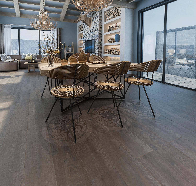 Impervia Commercial Cappucino Oak Luxury Vinyl Flooring