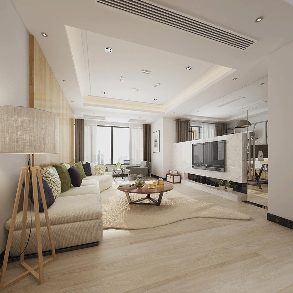 Impervia Commercial Calm Sand Oak Luxury Vinyl Flooring