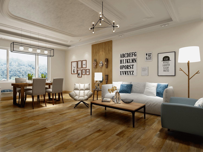 Impervia Commercial Acacia Luxury Vinyl Flooring