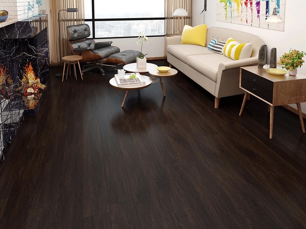 Impervia Black Oak Luxury Vinyl Flooring