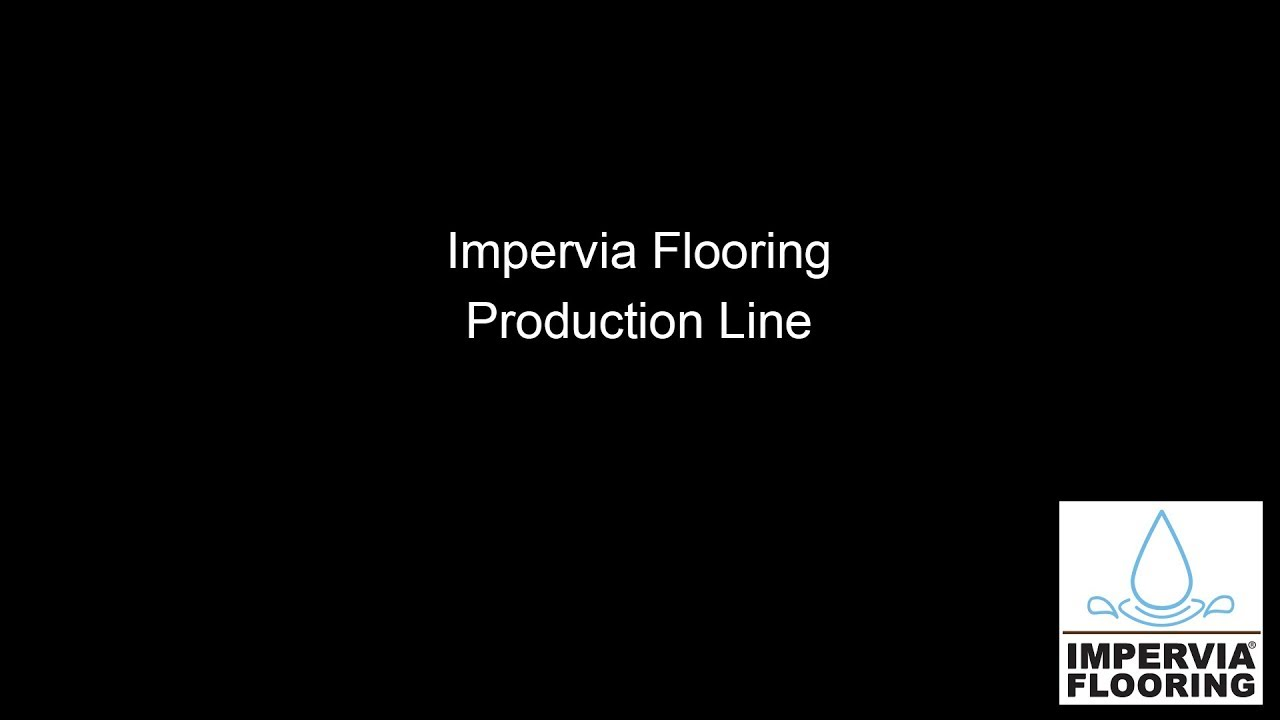 Impervia® Flooring Production Line