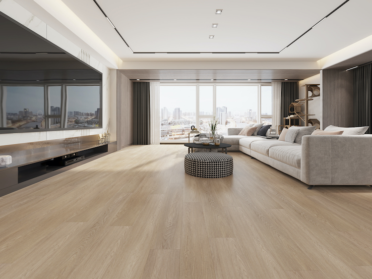 Champagne Pale White Oak Impervia Flooring
