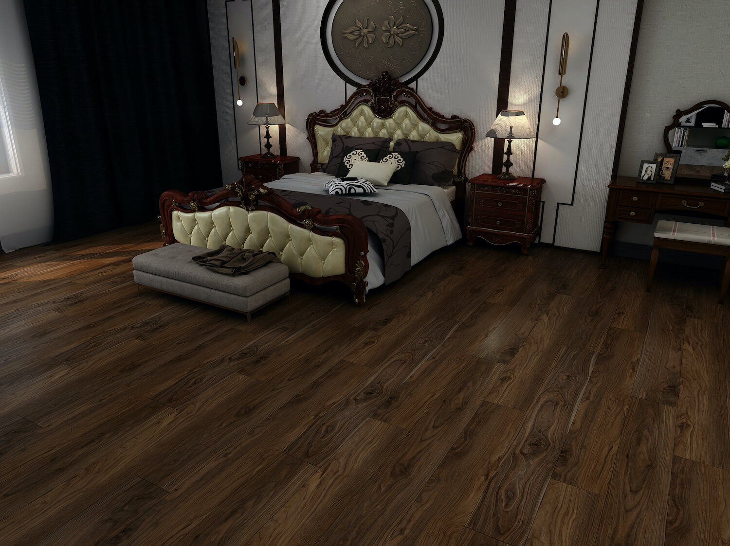 Black Walnut Luxury Impervia Flooring
