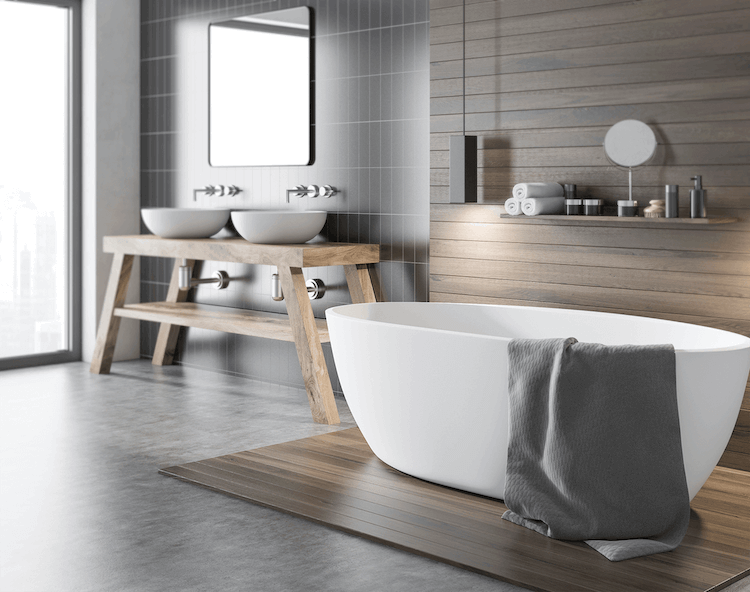 Impervia for Bathrooms