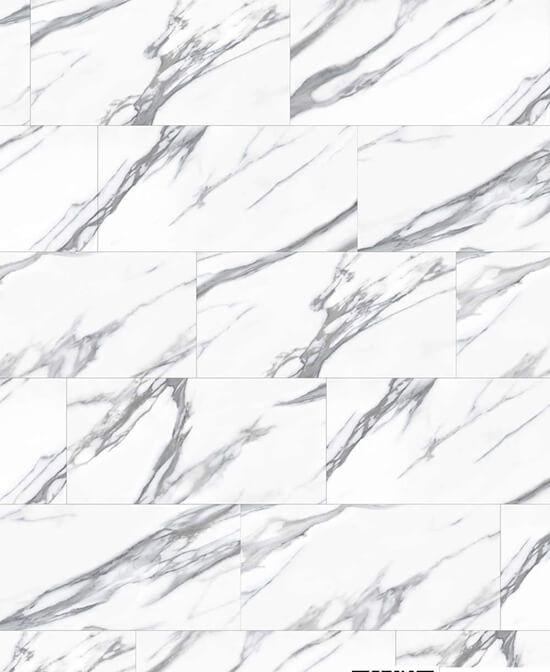 White Stone Impervia® Marble Tile