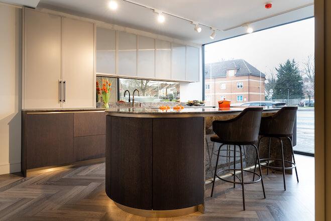 Impervia Vinyl Flooring For Bespoke Kitchen