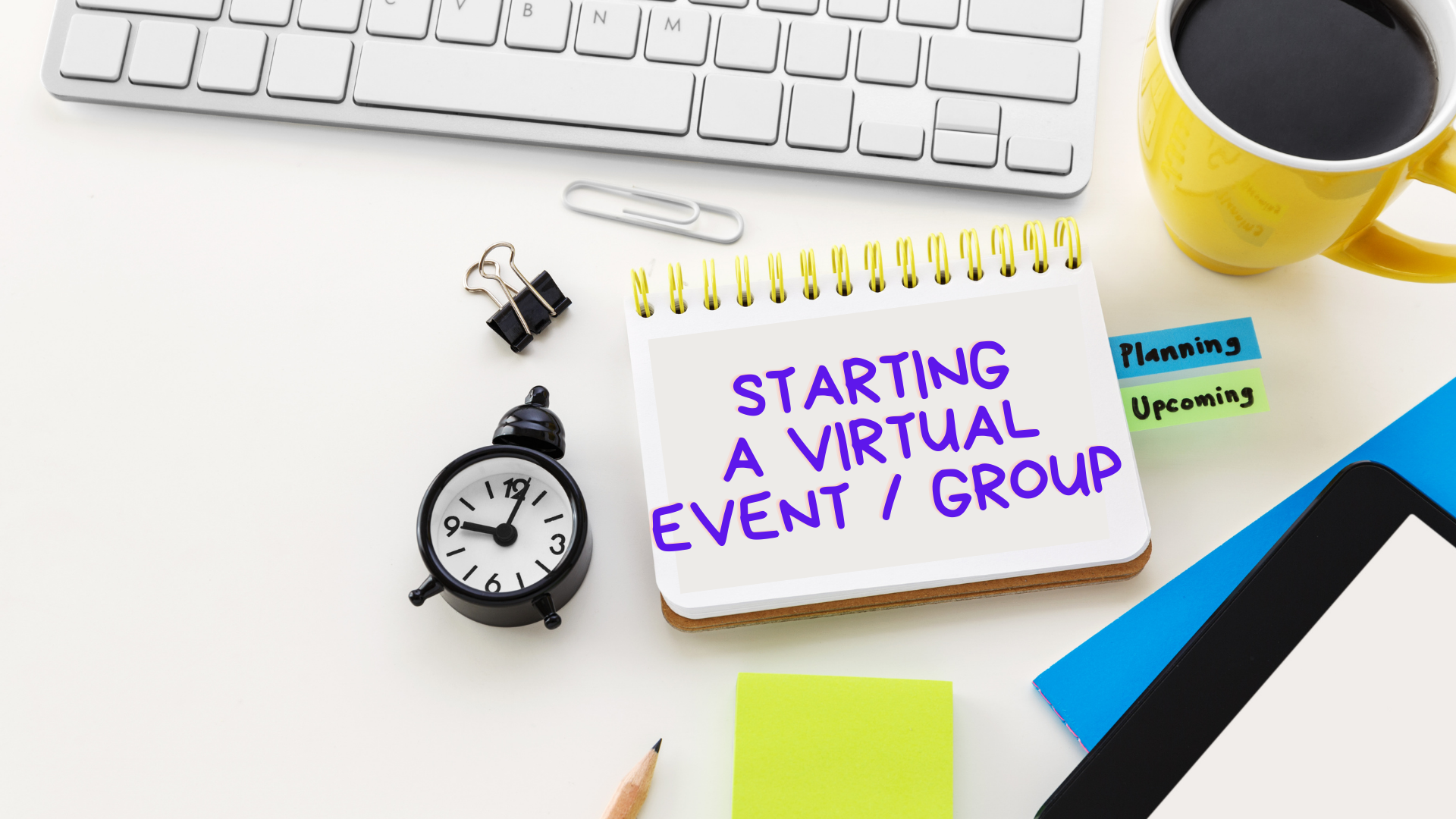 Starting a Virtual Event as a Host