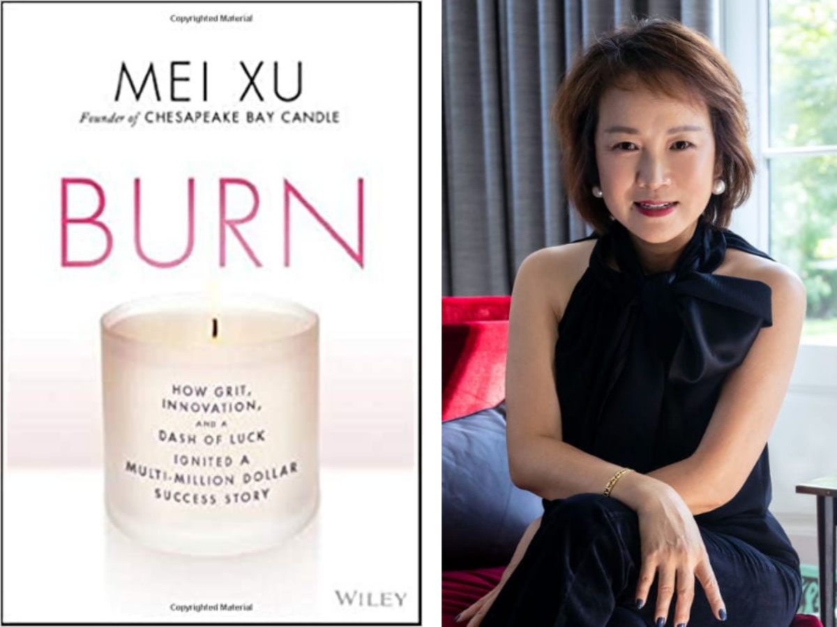 Nina Collins interviews Mei Xu about her admirable career and her new memoir, Burn.