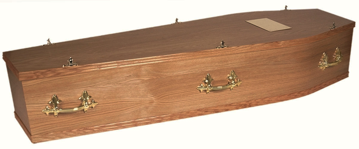 Cremation Coffin Oak Sutton Coldfield