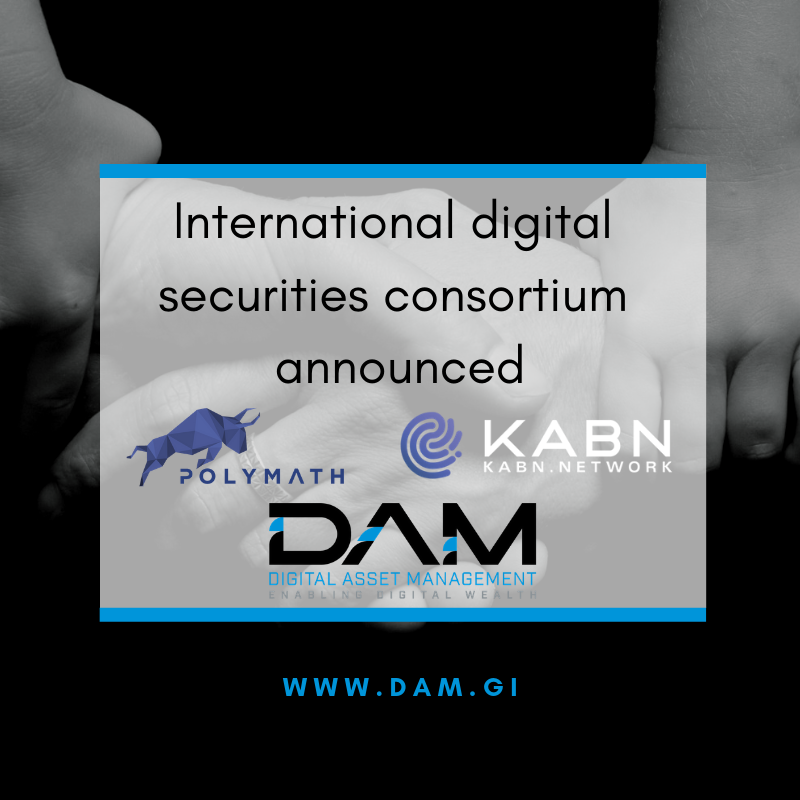 International Digital Securities Consortium Announced
