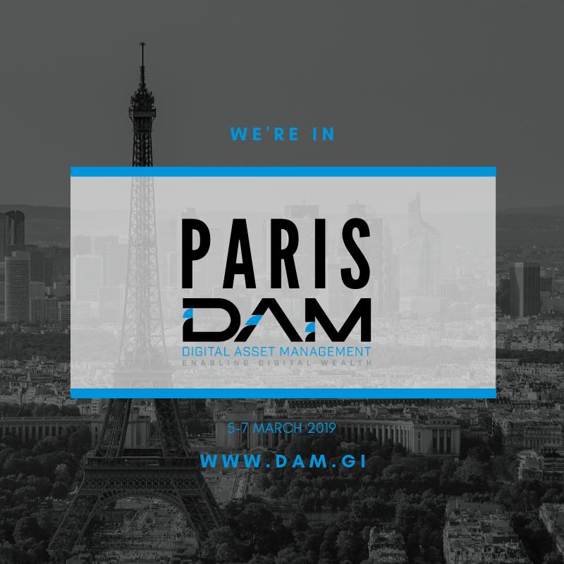 DAM at Ethereum Community Conference (ETHCC) in Paris